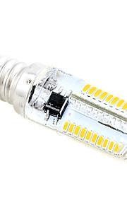 4W E12 LED-kornpærer T 80 SMD 3014 280-300 lm Varm hvit / Kjølig hvit AC 220-240 V 1 stk.