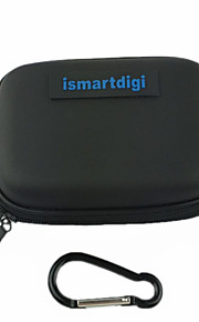 ismartdigi CC-2 EVA Camera Case with(Metals Buckle)For D.Camera Mini DV Sony Samsung Canon Nikon Pentax(Black/Blue)