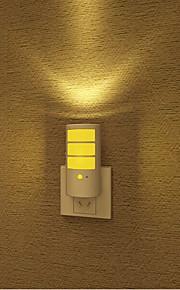 kreativ varm hvit oppladbart lyssensor lyd induksjon om babyen sove nattlys (assortert farge)
