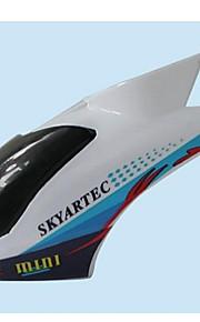 Skyartec rc helicóptero vespa 100 peças dossel (w100-009)