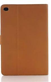 lyx retro vintage bok stil PU läder fallet täcker med stativ hållare till Apple mini4 tablettaskar