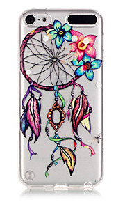 Dreamcatcher Pattern TPU Relief Back Cover Case for iPod Touch 5/Touch 6