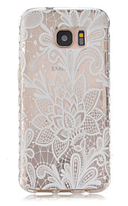 Chinese Cabbage Pattern Slip TPU Phone Case For Samsung Galaxy S7/S7 edge