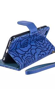 ny preging lommebok shell PU lærveske for iPhone 6 pluss / 6s pluss luksus magnetiske dekselet huden (assorterte farger)