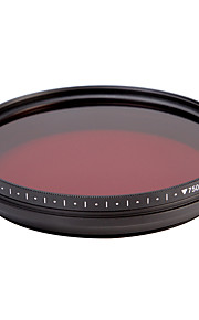 fotga® alt-i-én justerbar 530 nm-750 nm infrarøde ir pass røntgen linse filter 46/49 / 52 / 55mm