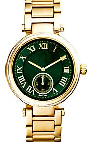 relojes mujer 2016 montre femmes mulher da forma assistir ideia ouro presente quartzo relógio de pulso tira relógio