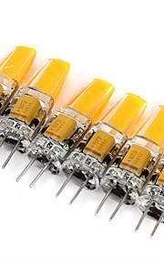 3W G4 LED-lamper med G-sokkel MR11 1 COB 180 lm Varm hvit / Kjølig hvit Dekorativ DC 12 / AC 12 V 6 stk.