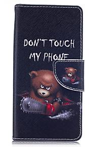 motorsav bjørn mønster kort telefon hylster til Huawei ære 5x / bestige P9 / bestige P9 lite