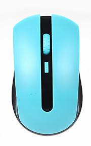 JITE mini 2,4 GHz trådløs 1000 dpi optisk mus med USB-modtager hvid grå blå grøn pink