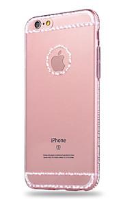 아이폰에 대한 고전적인 우아한 시리즈 TPU 소재 휴대 전화 케이스 6 / 6S / 6 플러스 / 6S 플러스 (모듬 색상)