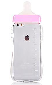 실리콘 병 디자인 아이폰의 밧줄 전화에 매달려 부드러운 벨트 6 / 6S / 6 플러스 / 6S 플러스