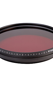 fotga® alt-i-én justerbar 530 nm-750 nm infrarøde ir pass røntgen linse filter 67mm