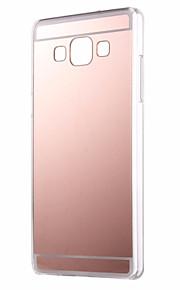 per Samsung Galaxy A7 specchio A710 caso di TPU molle della copertura posteriore di Samsung Galaxy A3 A5 A7 2016