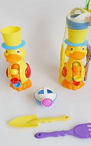 sommer legetøj strand ænder vandhjul (4stk)
