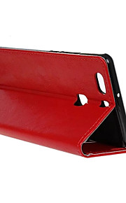 couvercle rabattable style portefeuille avec fente pour carte p9 huawei montent ainsi sacoche mode crazy horse texture (couleurs