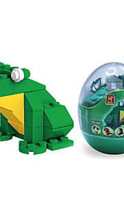 dr wan, le byggesten mini dyr æg emballage puslespil forsamling byggesten legetøj på frøen 6601