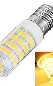 5W E14 LED-kornpærer T 51 SMD 2835 400-500 lm Varm hvit / Kjølig hvit Dekorativ AC 220-240 V 1 stk.