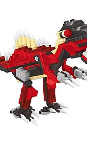 dr wan, le byggesten dinosaur æg snoet æg til at holde pædagogisk legetøj til børn 6801 pil tilbage dragon