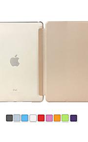 ultraohut magneettinen Smart, nahka tapauksessa matta läpikuultava takaisin iPadille pro 9.7