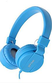 אוזניות סטריאו מוסיקה מוקפת על-אוזן סרט אוזניות mobilephone