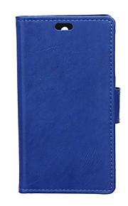 estilo del tirón cubierta de la carpeta con la ranura para tarjeta para el caso del Nokia Lumia 540 caso de la manera textura caballo loco