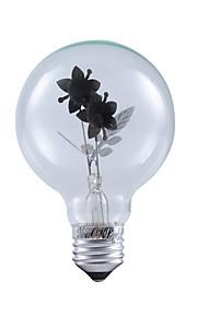 1 stk. YouOKLight E26/E27 3W / COB 220 lm Varm hvit B edison Vintage LED-globepærer AC 220-240 V