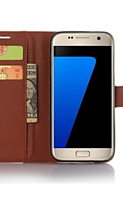 About To Open The Card Holder PU Leather Case To Protect Your Phone for Samsung Galaxy S7 (Assorted Colors)