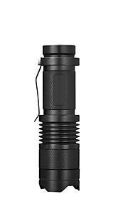 Lanternas LED LED Modo 500LM LumensProva-de-Água / Recarregável / Resistente ao Impacto / Superfície Antiderrapante / Bisel de Golpe /