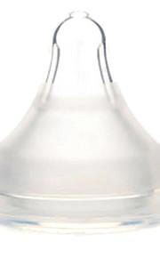 gel de sílice pezón para alimentar artículos de mesa de 0-6 meses