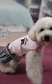 犬用品 ドレス ピンク 夏 / 春/秋 クラシック / 水玉 結婚式 / ファッション / クリスマス / バレンタインデー-Lovoyager