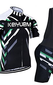 KEIYUEM®Others Unisex Short Sleeve Spring / Summer / Autumn Cycling Clothing Bib Suits/ Breathable Quick Dry#11