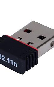 мини-USB адаптер беспроводной связи Wi-Fi приемник mtk7601 150Mbps
