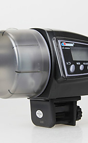 2in1 lcd automatisk akvarium sikker fisk feeder mad akvarium auto timer dyrefoderautomaten op til 100 g med original æske