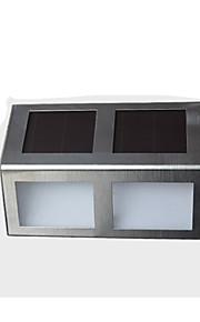 0.5W Soldrevne LED-lamper 80 lm Varm hvit / Kjølig hvit DIP-LED Dekorativ Batteri V 2 stk