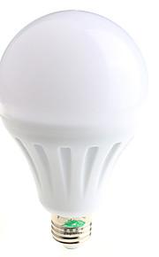 15W E26/E27 LED-globepærer A60(A19) 28 SMD 5730 1200lumens lm Varm hvit / Naturlig hvit Dekorativ AC 85-265 V 1 stk.