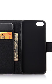 Luxury Genuine Leather Wallet Case for iPhone 6/6S/6 Plus/6S Plus (Assorted Colors)