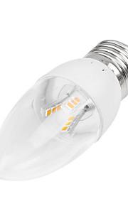 5W E14 / B22 / E26/E27 LED-lysestakepærer Innfelt retropassform 18LED SMD 2835 350-400 lm Varm hvit / Kjølig hvit Dimbar AC 85-265 V1