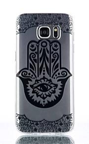 caso gesto modello TPU materiale di telefono per Galaxy S4 / s4mini / S6 / S6 bordo / bordo S6 plus / S7 / bordo s7