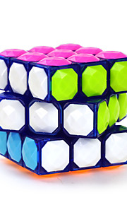 IQ Cube Magic Cube Yongjun Tre Lag Diamant Glat Speed ​​Cube Magic Cube puslespil Brun ABS