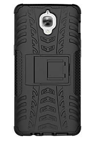 OnePlus 3 geval van hoge kwaliteit anti-klop TPU&PC kunststof dubbele harnas hoes met standaard dekking terug voor OnePlus drie