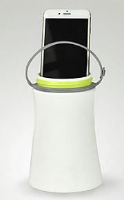 야외 나침반의 USB 다기능 실리콘 야간 방수 캠핑 휴대용 램프
