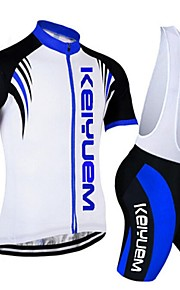 KEIYUEM®Others Short Sleeve Spring / Summer / Mountain Bike Cycling Clothing Bib Sets for Men/Women/ Breathable#35