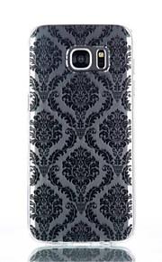 cassa del telefono palazzo fiore modello TPU materiale per Galaxy S4 / s4mini / S6 / S6 bordo / bordo S6 plus / S7 / bordo s7