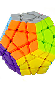 Cubos Mágicos Cube IQ Yongjun MegaMinx Velocidade Cube velocidade lisa Magic Cube quebra-cabeça Arco-Íris ABS