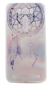 TPU materiaal paars campanula geschilderd patroon zachte telefoon geval voor asus zenfone max zc550kl