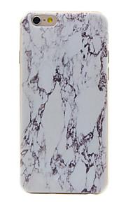 material de TPU padrão de mármore caso de telefone fino para 6s iphone plus / 6 plus / 6s / 6