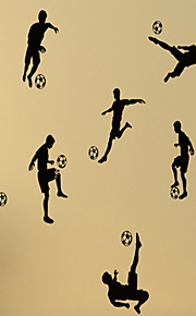 Stilleben / Former / Sport / 3D / folk / Fritid Wall Stickers Väggstickers Flygplan,vinyl 79*58cm
