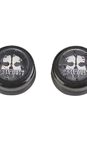 2pcs / lot cap tommelspaken joystick grep for PS4-kontrolleren