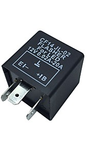 Car Motorcycle 12V Electronic LED Relay Fix Blinker Flasher Indicator