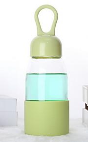projeto gota de água garrafa de água de vidro transparente de borosilicato